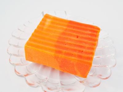 Kaltgerührte Schafmilchseife Grapefruit & Orange