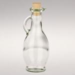 5 x Glas Karaffe 250 ml - mit Korkenverschluss