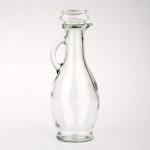 5 x Glas Karaffe 250 ml - mit Glaskorken