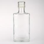 5 x Glasflasche 250 ml mit Schraubverschluss