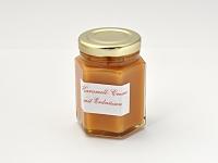 Karamell-Creme mit Erdnüssen